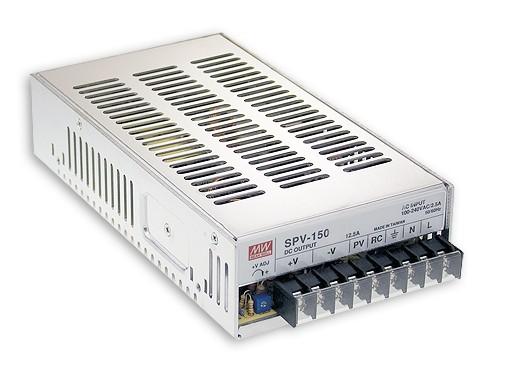 Netzteil regelbar 12V 150W, MeanWell SPV-150-12