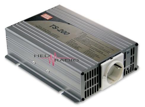 12V auf 230V Sinus-Wechselrichter 200W Dauerleistung, max. 400W