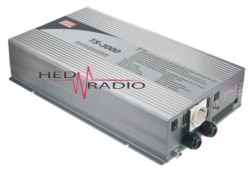 12V auf 230V Sinus-Wechselrichter 3000W Dauerleistung, max. 6000W