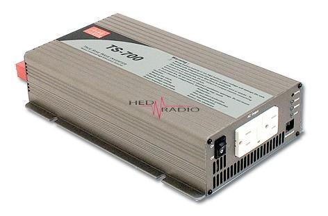 12V auf 230V Sinus-Wechselrichter 700W Dauerleistung, max. 1400W