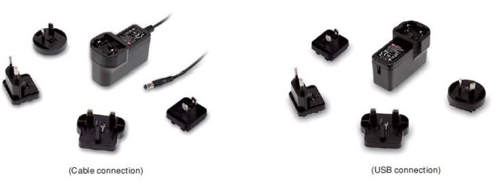 5V 2,4A 12W Steckernetzteil MeanWell GEM12I05-USB