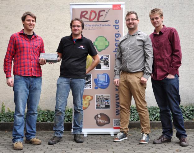 15.10.2015 Übergabe Ladegerät 48V 6A an Projekt FS RDF, Nürnberg