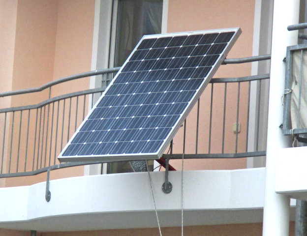 31.05.2012 Solar-Strom am Balkon selber erzeugen