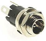 Hohlbuchse 5,5mm x 2,5mm max. 12V 5A, Lötanschluss