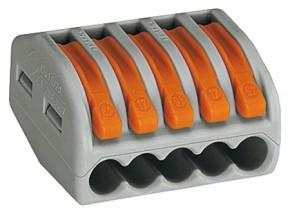 Wago Verbindungsklemme wieder lösbar 5-pol Typ 222-415