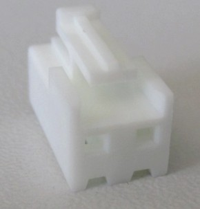 Buchsengehäuse für 2 Crimp-Kontakte JST VHR-2N