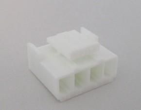 Buchsengehäuse für 4 Crimp-Kontakte JST VHR-4N