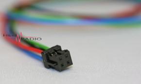 Kabelsatz 4pol 30cm zu HRP-450, HRP-600