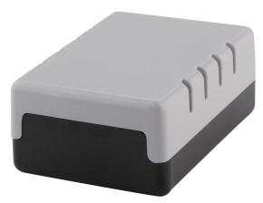 Bopla Polystyrol-Gehäuse Lüftungsschlitze, 188x110x70mm E-450 VL