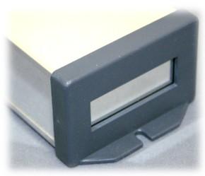 ABS-Montageblende für Weißblechgehäuse 64x40mm