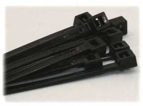 100 x Cable Tie 360x4,8mm Black UV-stable.