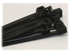 100 Stück Kabelbinder 4,8x360mm schwarz UV-stabil