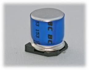 SMD-Kondensator Frolyt 220µF 35V 105°C