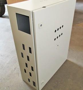 Gehäuse Rittal pulverbeschichtet AE-1058 600x800x250, Sonderbauform, letztes Exemplar