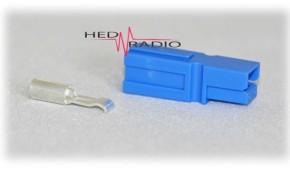 Anderson Power-Pole PP-15 blau inkl. Kontakt