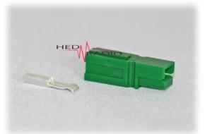 Anderson Power-Pole PP-15 grün inkl. Kontakt