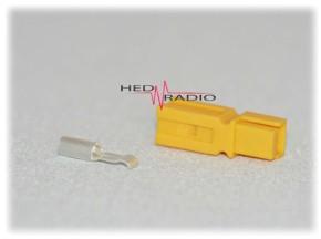 Anderson Power-Pole PP-15 gelb inkl. Kontakt