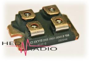 Schottky-Diode 100V 2x60A, DSS2X61-01A, SOT227B