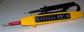 Spannungsprüfer 0V bis 400V mit LED
