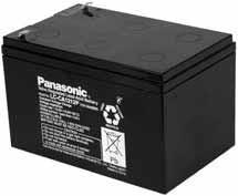 6 x 12V 12Ah Blei Akku Panasonic LC-CA1212P