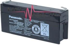 6V 3,4Ah Blei Akku Panasonic LC-R063R4
