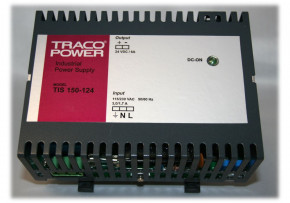 TIS-150-124, Hutschienen-Netzteil Traco 24V 150W, gebraucht