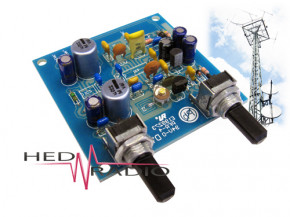 UKW-Radio Empfänger Bausatz, 9V