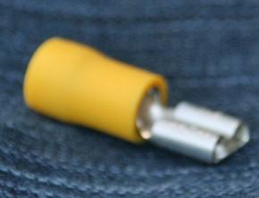 10 Stück Flachsteckhülse, normal, 4,0 -6,0mm², 6,3 x 0,8mm