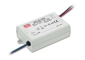 15-50V LED-Netzteil 0,350A 25W MeanWell APC-25-350