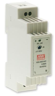 24V Hutschienen-Netzteil 0,63A 26,4W MeanWell DR-15-24