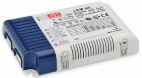 universelles, stromgeregeltes 40W Netzteil 350mA bis 1050mA, PWM-dimmbar