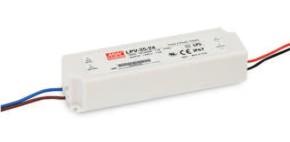 12V LED-Netzteil MeanWell LPV-35-12