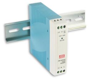 5V dinrail-powersupply 2A 10W MeanWell MDR-10-5