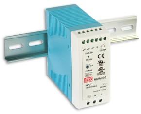 5V Hutschienen-Netzteil 6A 30W MeanWell MDR-40-5