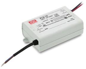 350mA 16W LED-Netzteil stromgeregelt PLD-16-350B