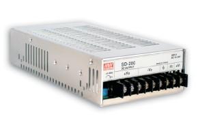 24V DC-Spannungswandler 200W, Eingang 36V bis 72V, MeanWell SD-200C-24