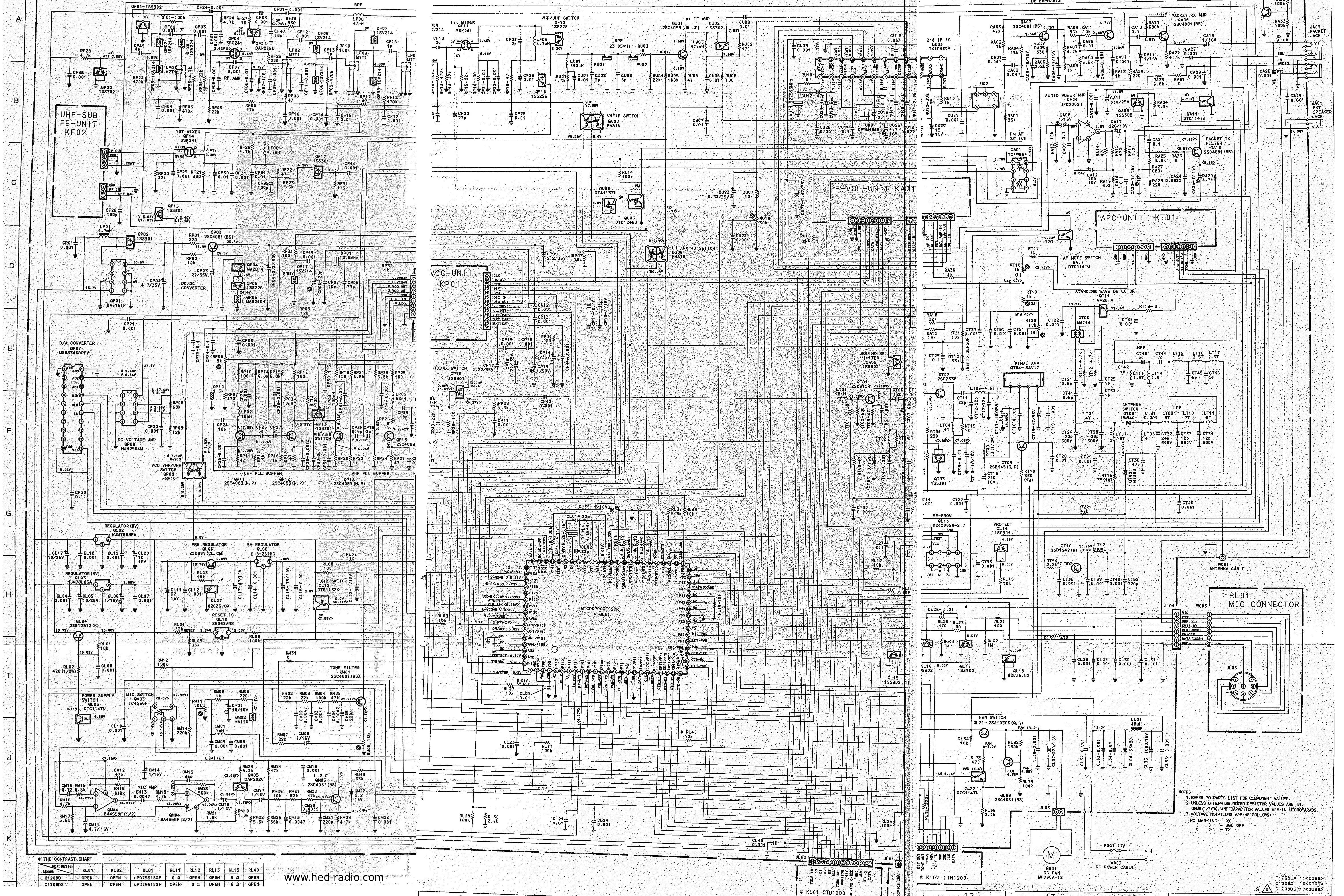 Technische Daten, Anleitung, Bilder und Schaltplan zum STANDARD C-1208